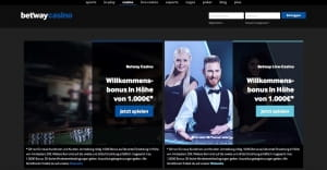 Betway Casino WM Verlosung