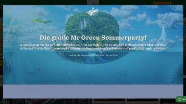 Mr. Green Casino: Preis-Spektakel bei der großen Sommerparty