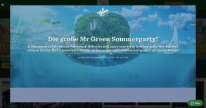 Mr Green Sommerparty
