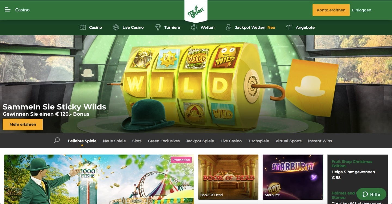 Mr Green Casino 5 Euro