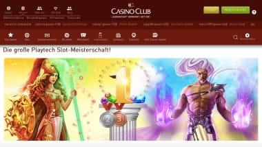 CasinoClub: Prämien bei der Slot-WM einkassieren