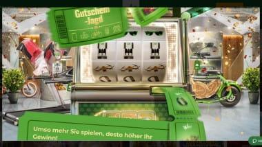Mr. Green Casino: Mit der Gutschein-Jagd tolle Preise holen