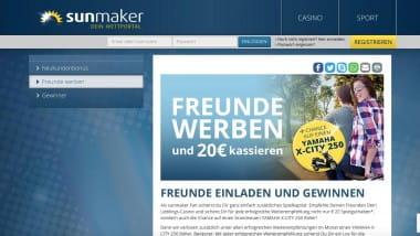 Sunmaker: Freunde werben und belohnen lassen