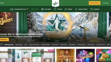 Mr Green Casino: 5.000 Euro Gewinnspiel zum Black Friday