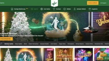Mr Green Casino: 14.000 Euro Preispool beim Weihnachtsbonus