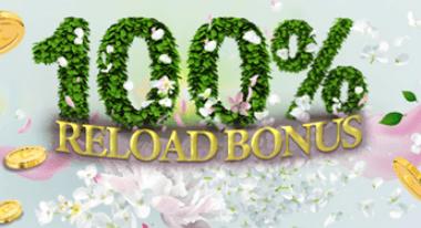 Casino Club 100% Reload Bonus: Richtig absahnen im März