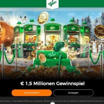 Mr Green Casino: Gewinnspiel mit 1,5 Mio. Euro im Preispool