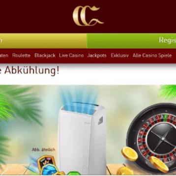 CasinoClub: Mobiles Klimagerät und 400 Euro gewinnen