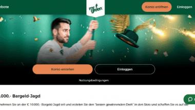 Mr. Green: Insgesamt werden 10.000 Euro ausbezahlt