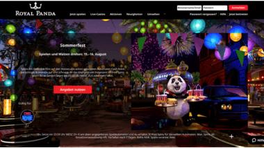 Royal Panda: Tägliche Belohnungen beim Sommerfest schnappen