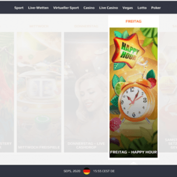 NetBet Casino: Freitags Happy Hour Bonus holen