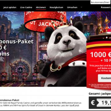Royal Panda: Wer neue Kunden empfiehlt erhält Freispiele